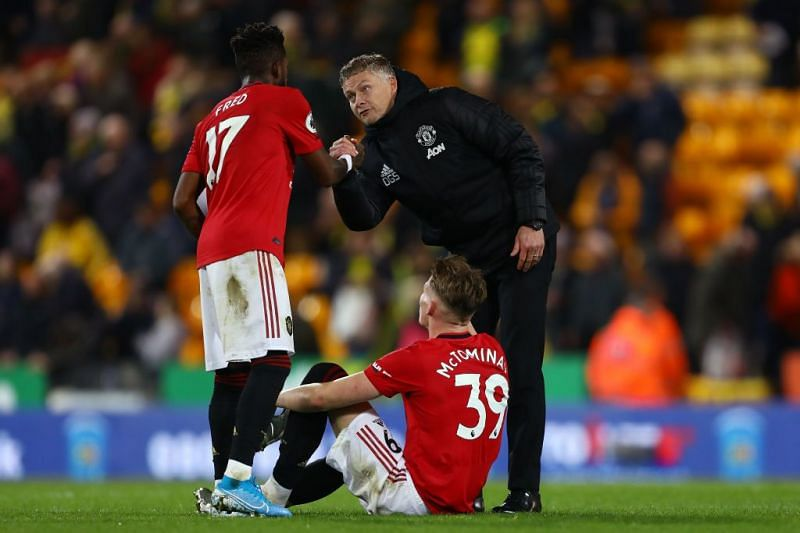 Fred and McTominay were unplayable against Newcastle and PSG.