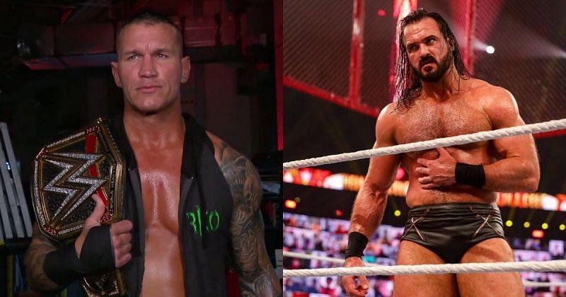 Randy Orton and Drew McIntyre.