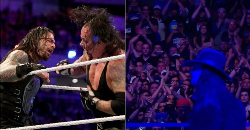 Roman Reigns and The Undertaker at WrestleMania 33