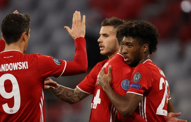 Bayern Munich were excellent in the first half