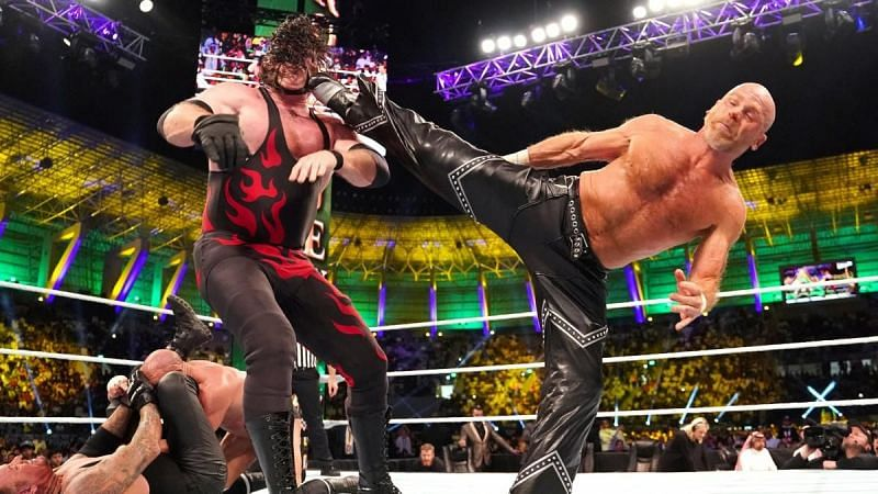 D-Generation X defeated The Brothers of Destruction two years ago
