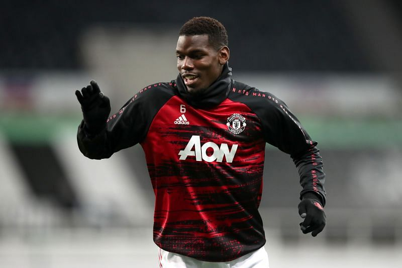 Pogba has been on the bench for Manchester United