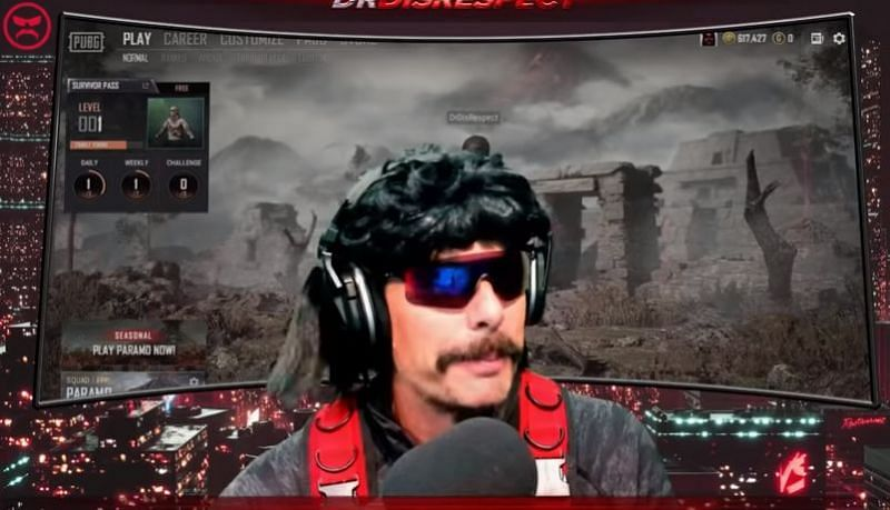 Image Credits: Dr Disrespect, YouTube