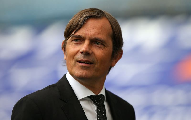 The pressure is mounting on Derby County boss Phillip Cocu