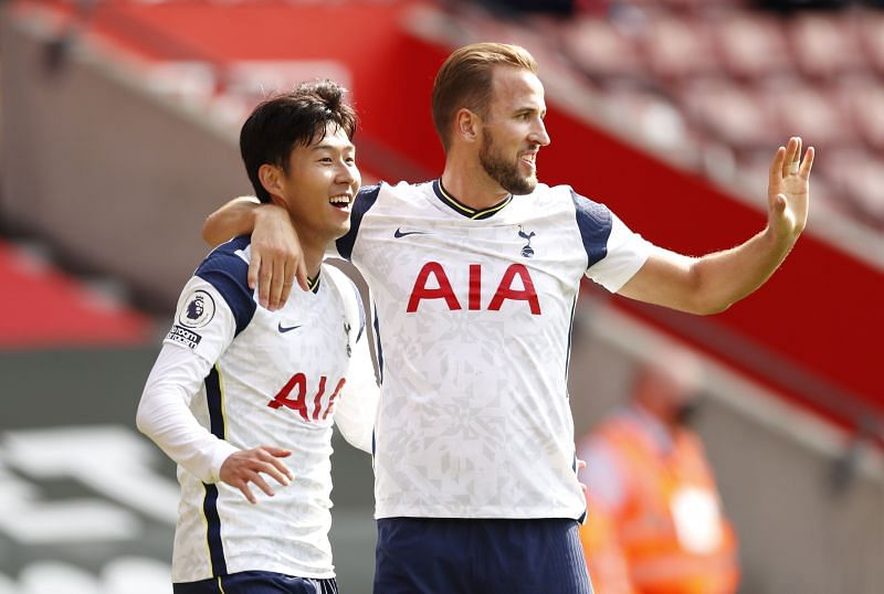 Kane and Son had already combined for seven Premier League goals this season before tonight