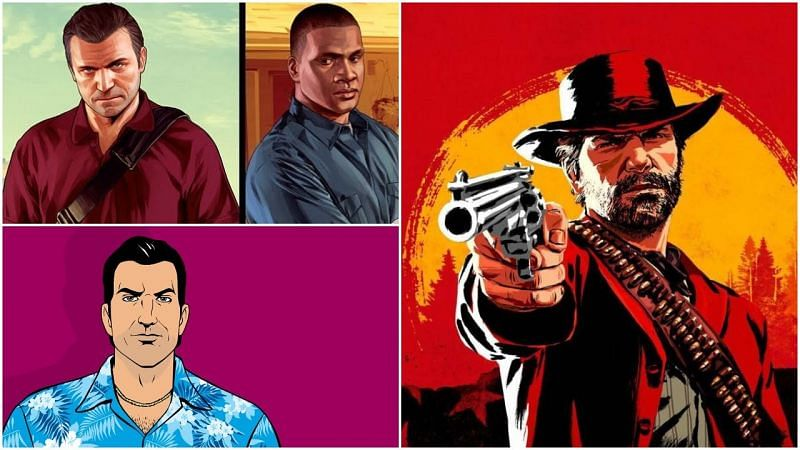 Rockstar has been able to craft some truly iconic characters in their run (Image Credits: Levelskip, Rockstar Games, GTA series videos, YouTube)