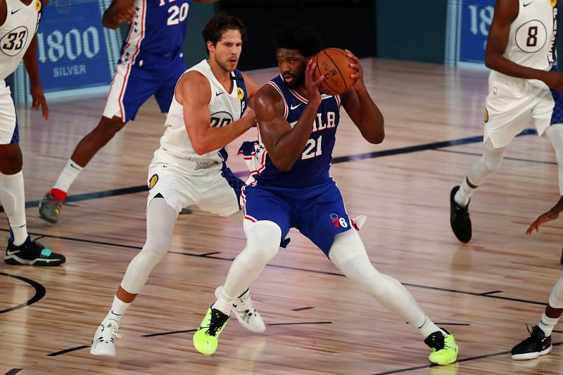 Joel Embiid has been plagued with injuries from the start.