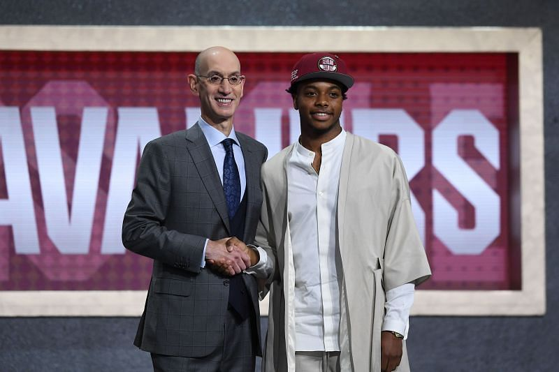 Darius Garland was the fifth overall pick of last year
