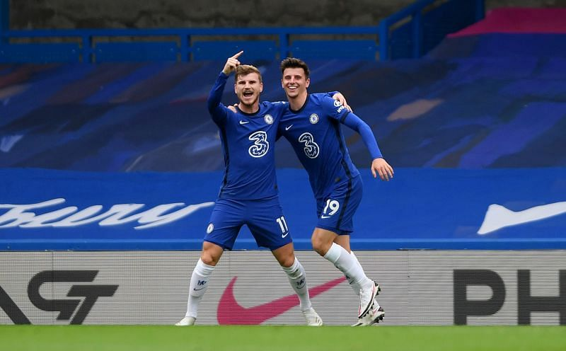 Chelsea star Timo Werner scored two outstanding goals against Southampton