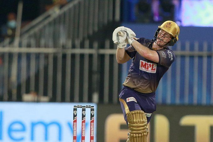 Eoin Morgan batted at No. 4 in KKR
