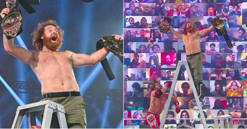 Sami Zayn won the Intercontinental title at Clash of Champions