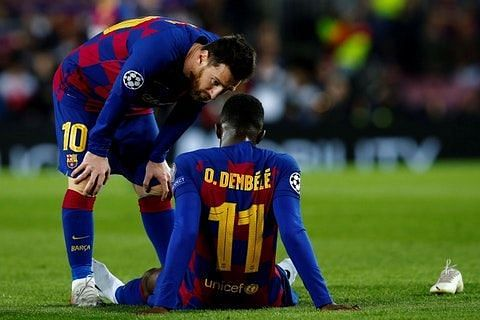 Ousmane Dembele has been linked with a move to Manchester United