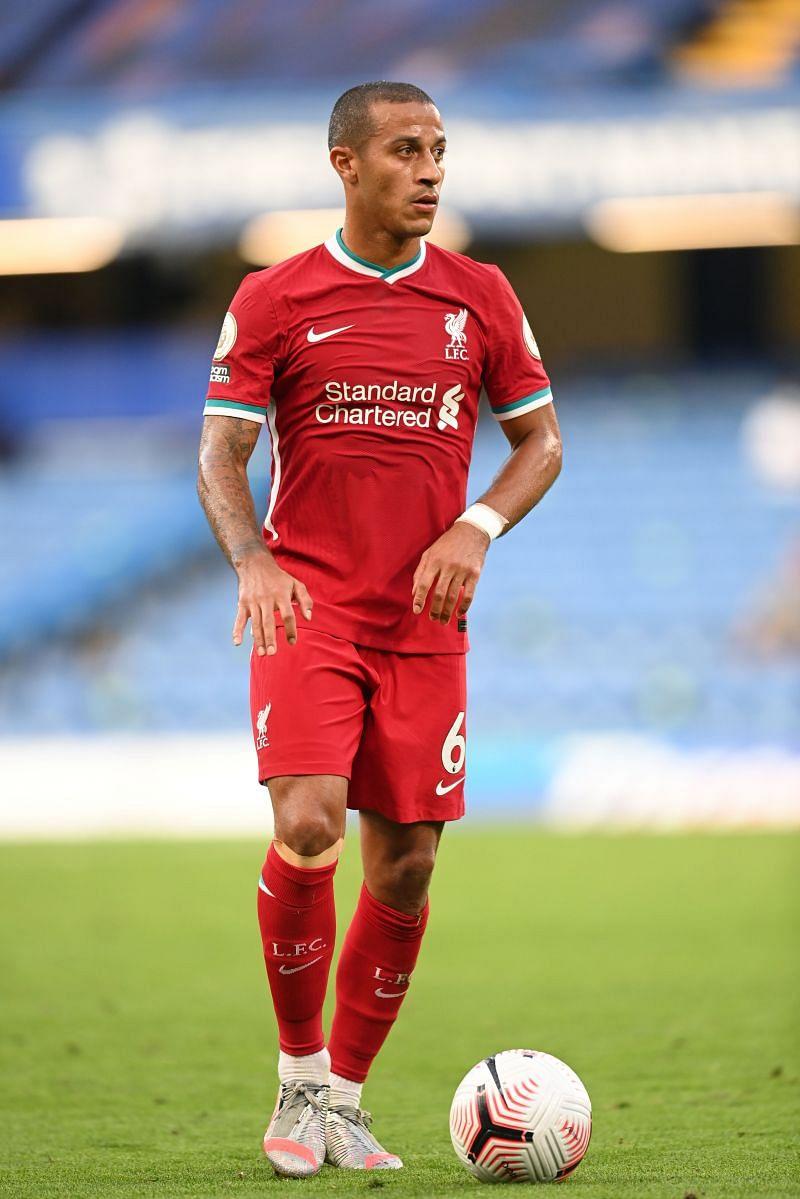 Thiago to make his full debut against Everton.