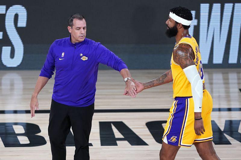 Portland Trail Blazers v Los Angeles Lakers - Game One