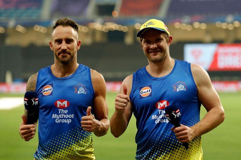 Shane Watson and Faf du Plessis (Image Credits: IPLT20.com)