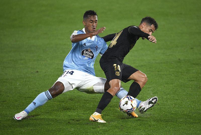 Renato Tapia struggled against Coutinho