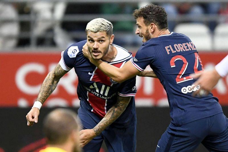 Paris St. Germain striker Mauro Icardi will be hoping to shoot down Angers this week