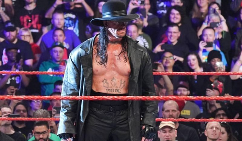 Could we see The Undertaker wrestle one more time in WWE?