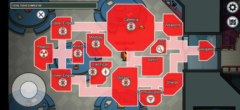 The Sabotage map look