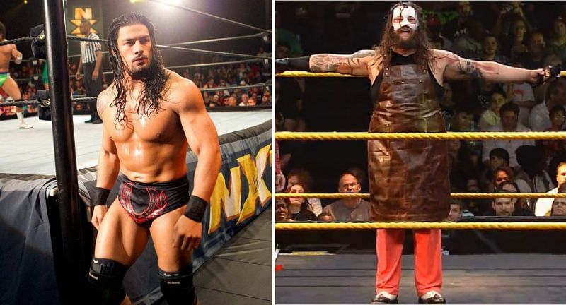 Roman Reigns and Bray Wyatt in NXT