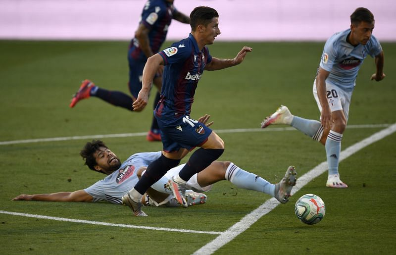 Levante take on Celta Vigo this weekend