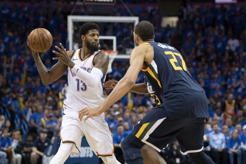 Utah Jazz vs Oklahoma City Thunder - Game One