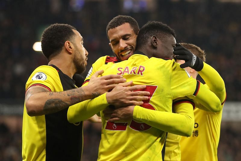Watford have managed to keep both Sarr and Deeney at the club