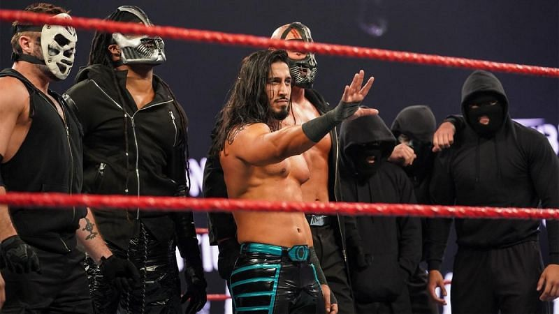 Mustafa Ali is now shockingly officially a member of RETRIBUTION