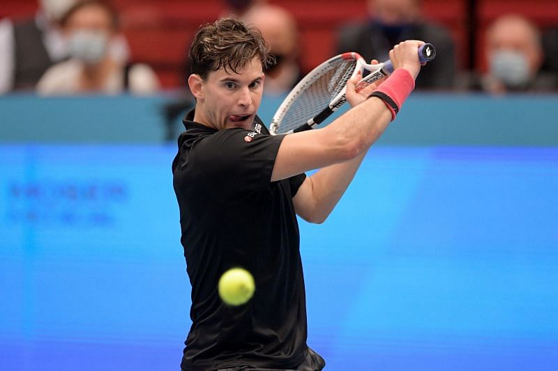 Dominic Thiem at the Erste Bank Open 2020