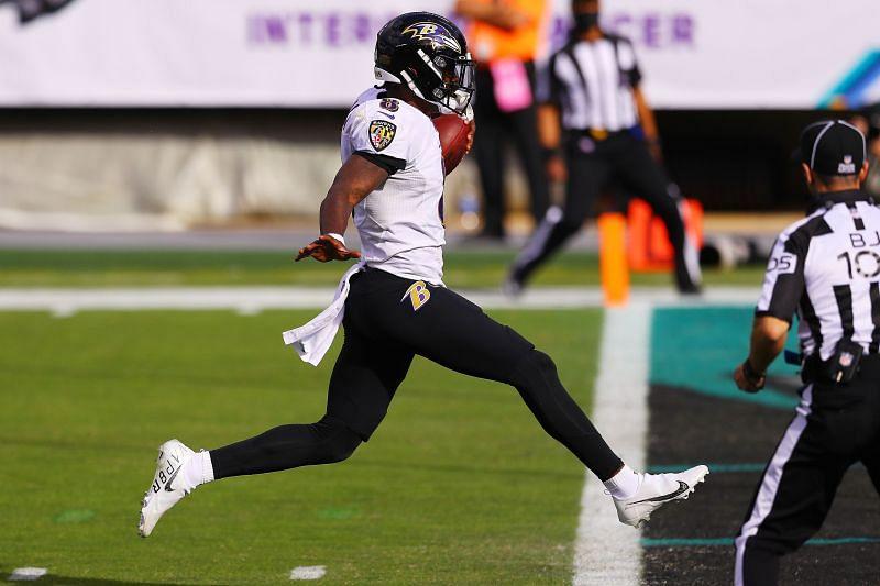 Baltimore Ravens QB Lamar Jackson