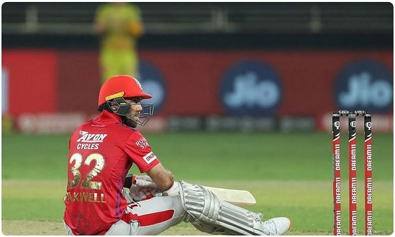 It has been a struggle for Glenn Maxwell in IPL 2020.