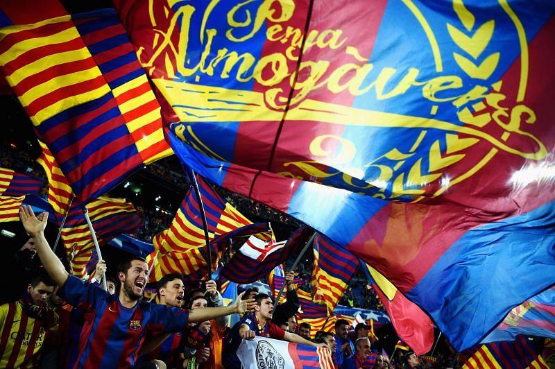 Barcelona fans demand nothing but success