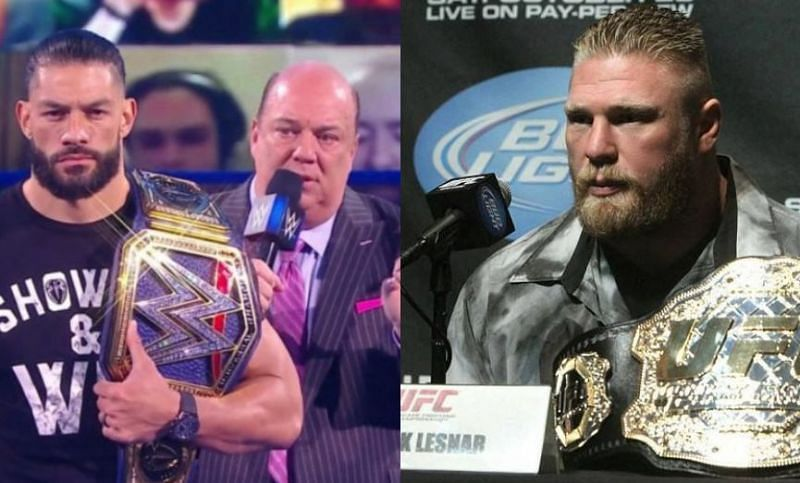 Paul Heyman has been known for working with both Roman Reigns and Brock Lesnar