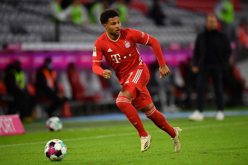 Serge Gnabry will not play a part in this game