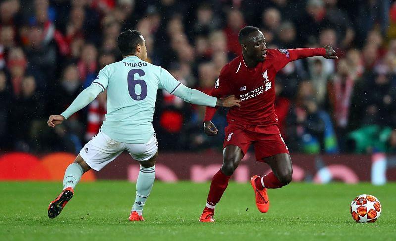 Thiago to start while Naby Keita misses out.