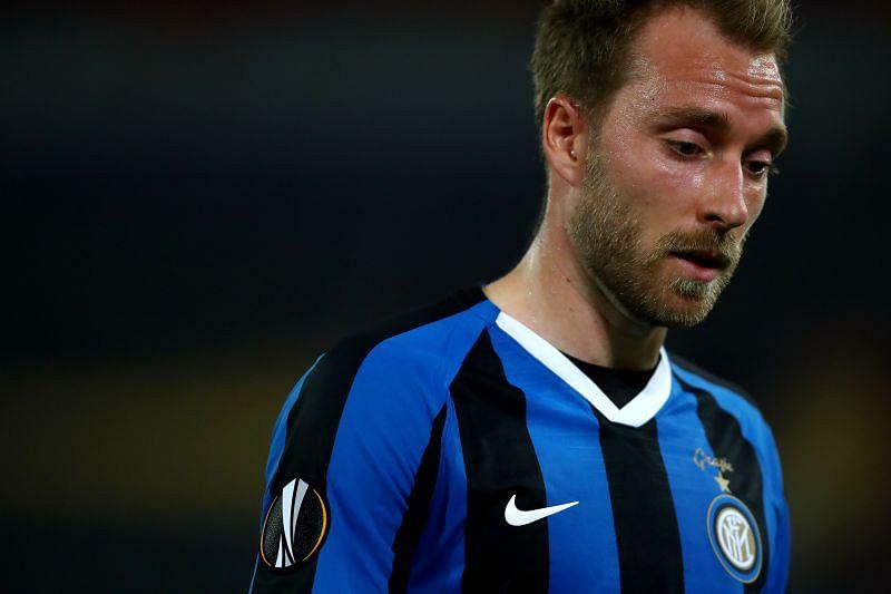Christian Eriksen has not enjoyed a good spell at Inter Milan