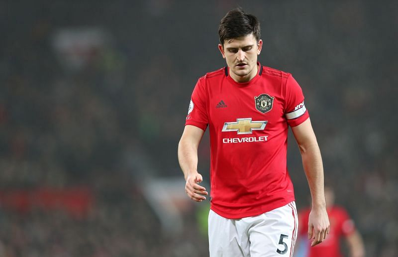 Harry Maguire of Manchester United