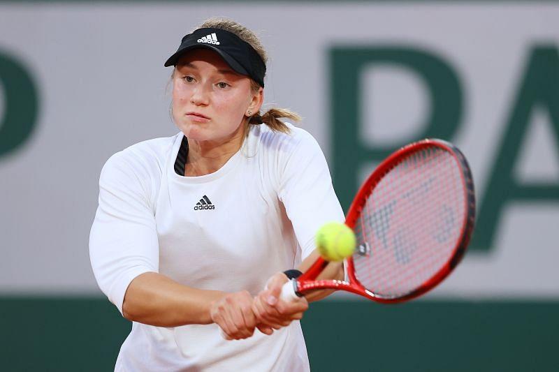 Elena Rybakina at the 2020 French Open