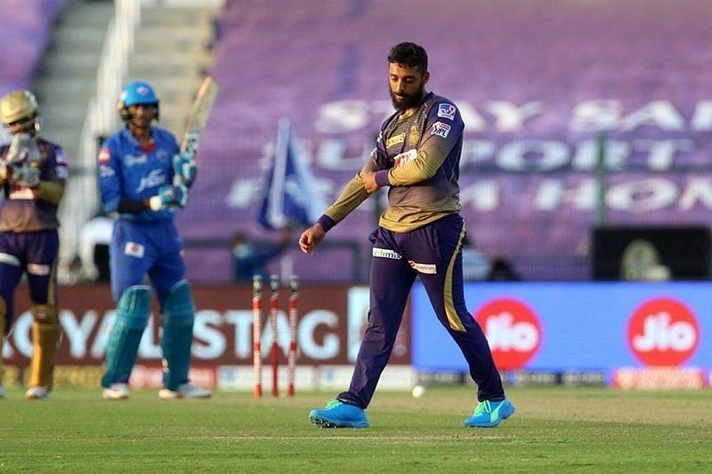 Varun Chakravarthy picked up a five-fer.