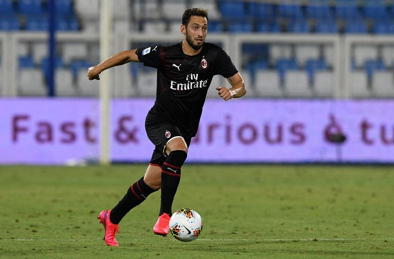 Hakan Calhanoglu will be unavailable for AC Milan