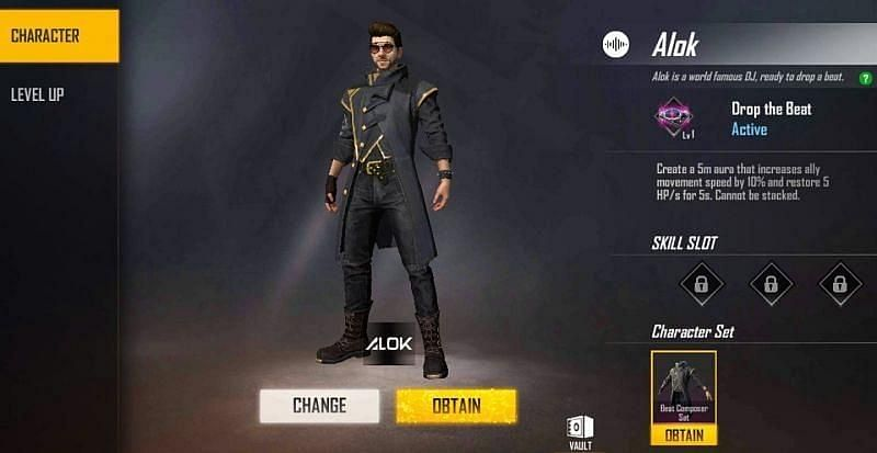 DJ Alok in Free Fire