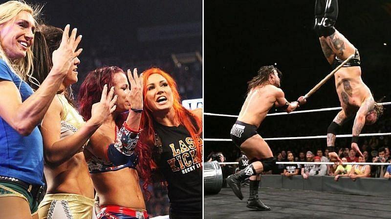 NXT TakeOver में शानदार प्रदर्शन करने वाले दिग्गज सुपरस्टार्स