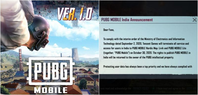 An ss of the in-game message from PUBG Mobile