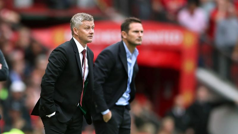 Solskjaer and Lampard will face each other for the first time this season on Saturday