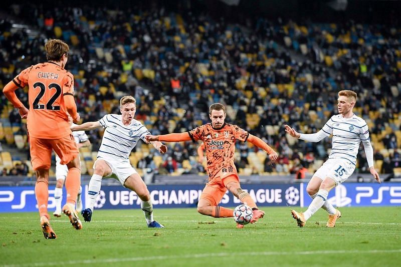 Juventus registered a 2-0 away win at Dynamo Kyiv in their UEFA Champions League fixture.