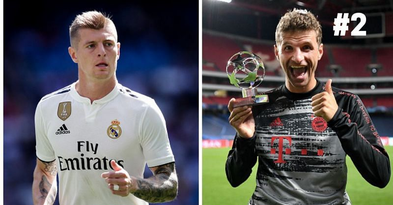 Thomas Muller and Toni Kroos have achieved a lot in the game