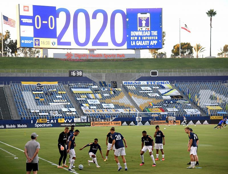 The Los Angeles Galaxy need a victory