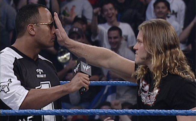 Chris Jericho and The Rock were often rivals during their time together on WWE