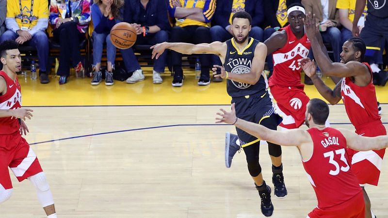 The Warriors move the ball far more than any other team.