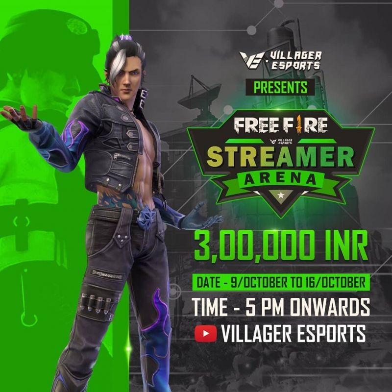 Free Fire Streamers Arena